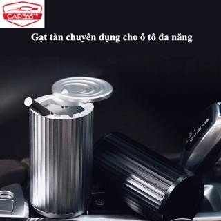 Gạt tàn chuyên dụng cho ô tô, xe hơi bằng kim loại nguyên chất, cá tính và sáng tạo - Gạt tàn ô tô xe hơi đa năng, có nắp đậy tiện lợi - CAR13 thumbnail