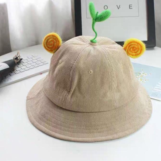 Giá bán Mũ mầm cây tai xoắn hàng có sẵn kèm ảnh thật( mua nhiều có giảm)1111