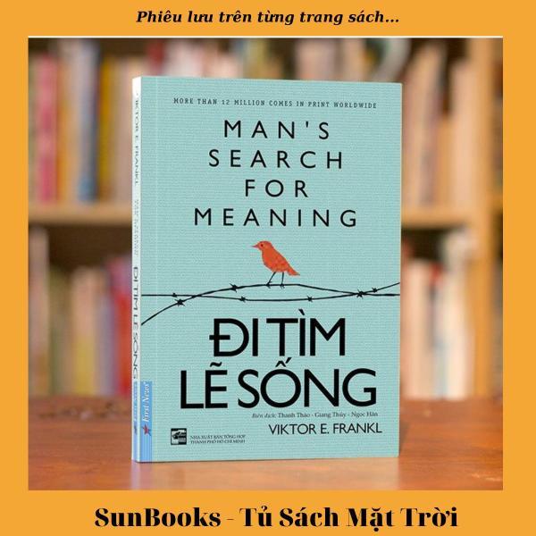 Sách Đi Tìm Lẽ Sống (Tái Bản)  - Tặng kèm kẹp sách