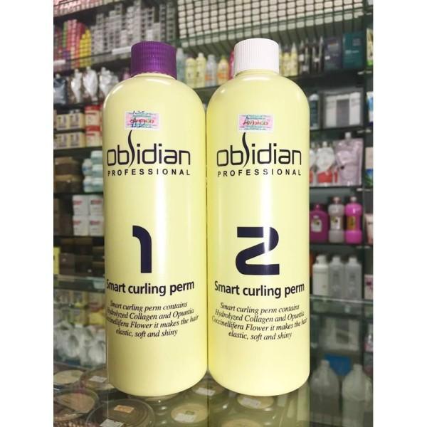 Thuốc uốn tóc 3D Obsidian Smart Curling Perm ( uốn lạnh + uốn nóng) 120mlx2 nhập khẩu