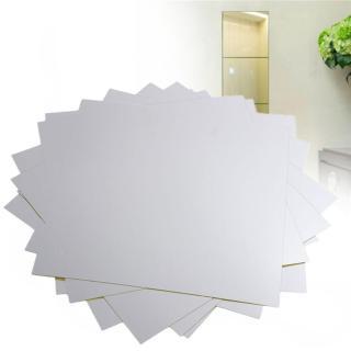 [HÀNG TỐT] Đồ dùng trong phòng gương dẻo dán tường - Trang trí phòng kích thước 30 30 cm - Không sợ vỡ, dán được nhiều bề mặt, thân thiện môi trường - Không bị méo, soi được nửa người thumbnail