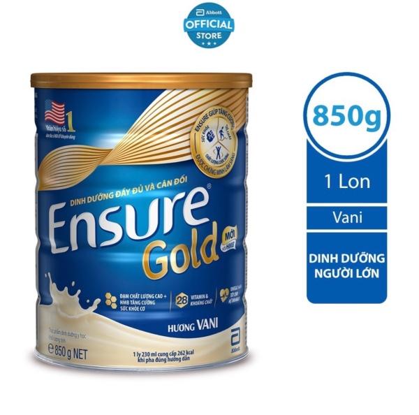 Sữa Ensure Gold 850g Hương Vani cao cấp