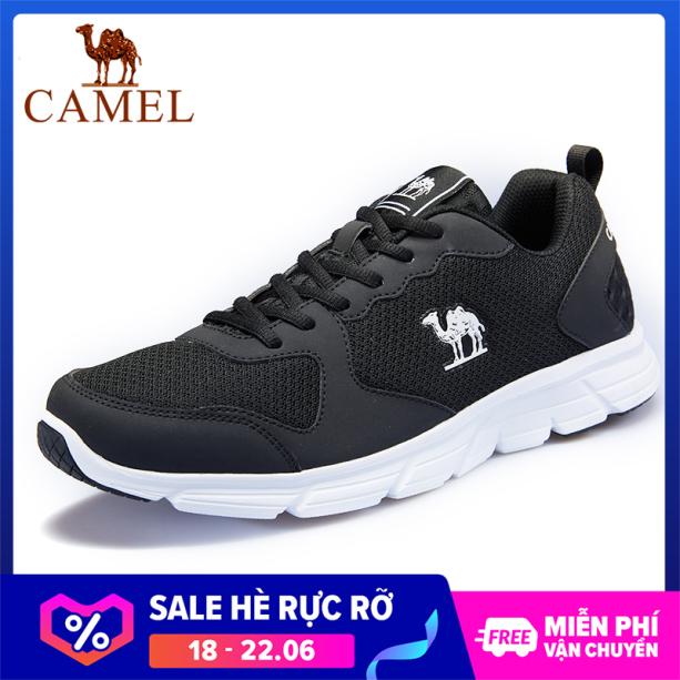 Giày sneaker nam thể thao phối lưới nhẹ thoáng khí thiết kế đơn giản Camel International Đế nhẹ chống trơn trượt giá rẻ