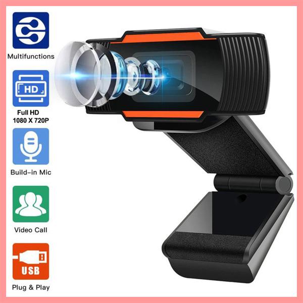 Bảng giá Webcam Máy Tính, Laptop Có Mic FHD 1080P/720P, Hỗ trợ Học Online Qua ZOOM, Gọi Video Hình Ảnh Sắc nét Phong Vũ