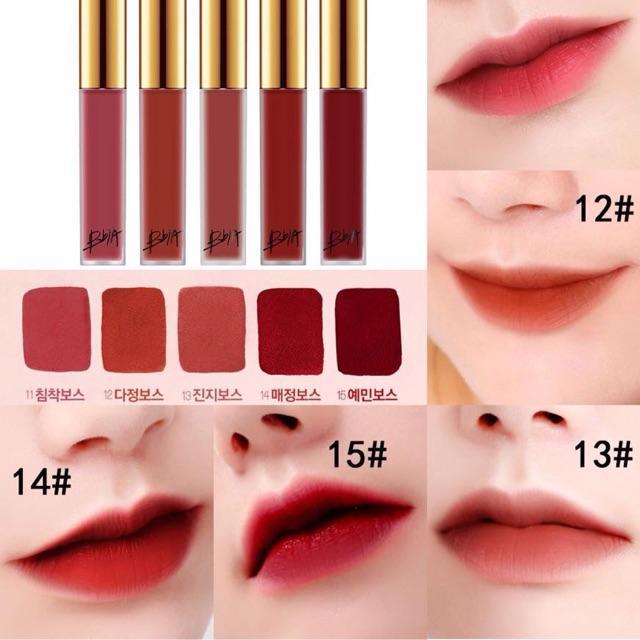 Son Kem Lì BbiA Last Velvet Lip Tint Version 3 cho môi nàng thêm xinh