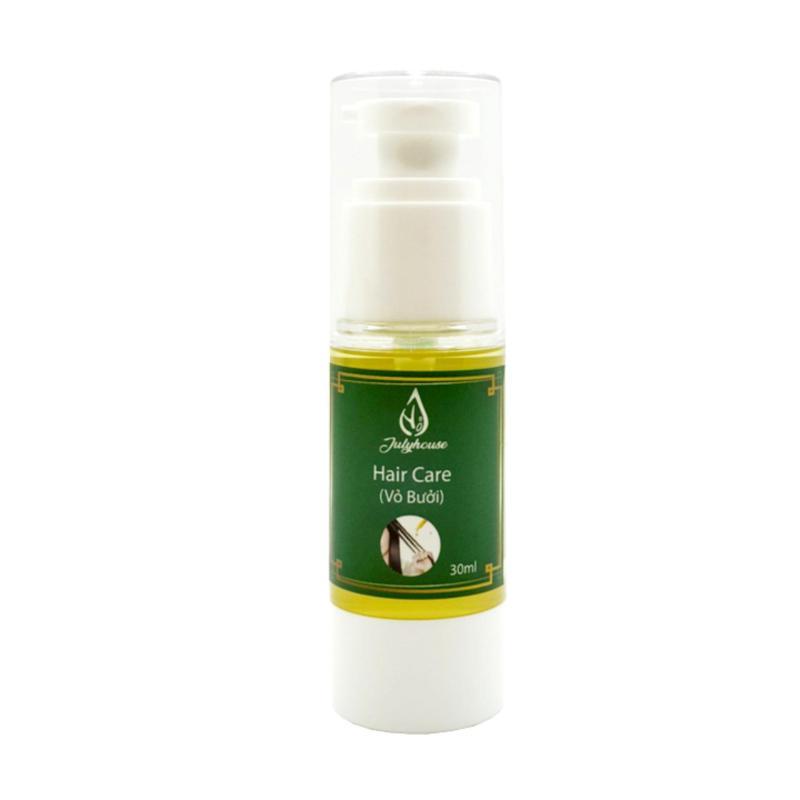 [Chính Hãng] Serum dưỡng tóc dầu Mắc Ca tinh dầu vỏ Bưởi 100% thiên nhiên JULYHOUSE 30ml cao cấp
