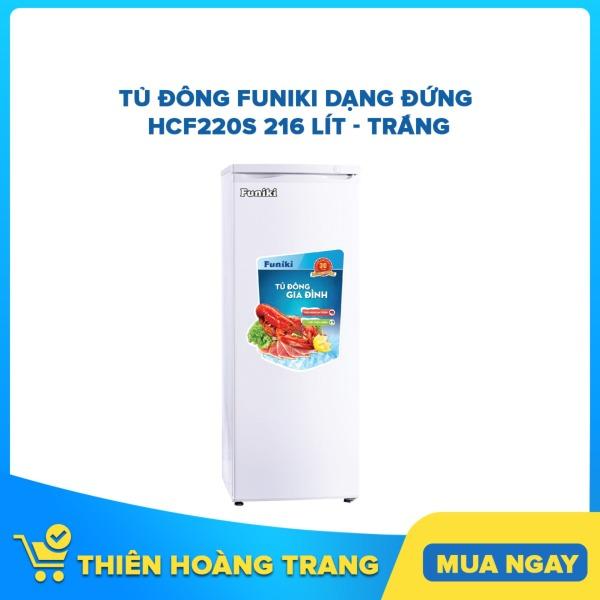 Bảng giá Tủ đông Funiki dạng đứng HCF220S 216 lít - trắng Điện máy Pico