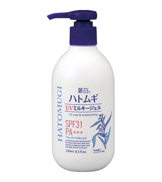 Sữa dưỡng thể chống nắng Hatomugi SPF31 PA+++ 250ml Nhật Bản