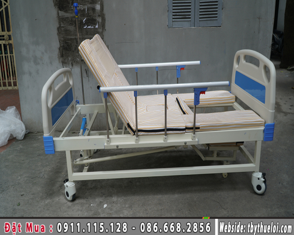 Giường Y Tế - Giường Y Tế Đa Năng 4 Tay Quay - Giường Bệnh Viện (Giá 8.500.000đ)