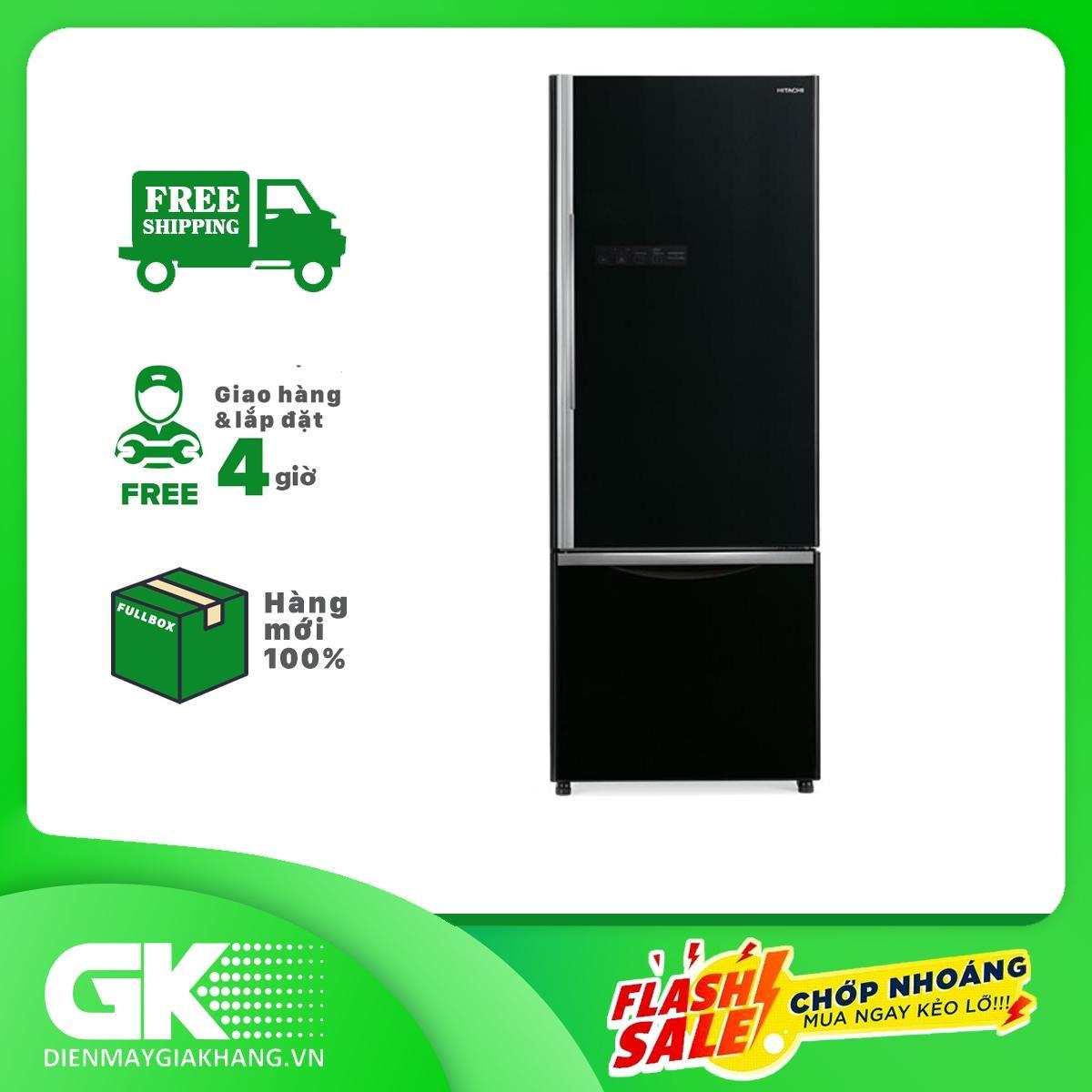 Bảng giá Tủ lạnh Hitachi Inverter 415 lít R-B505PGV6 GBK Điện máy Pico