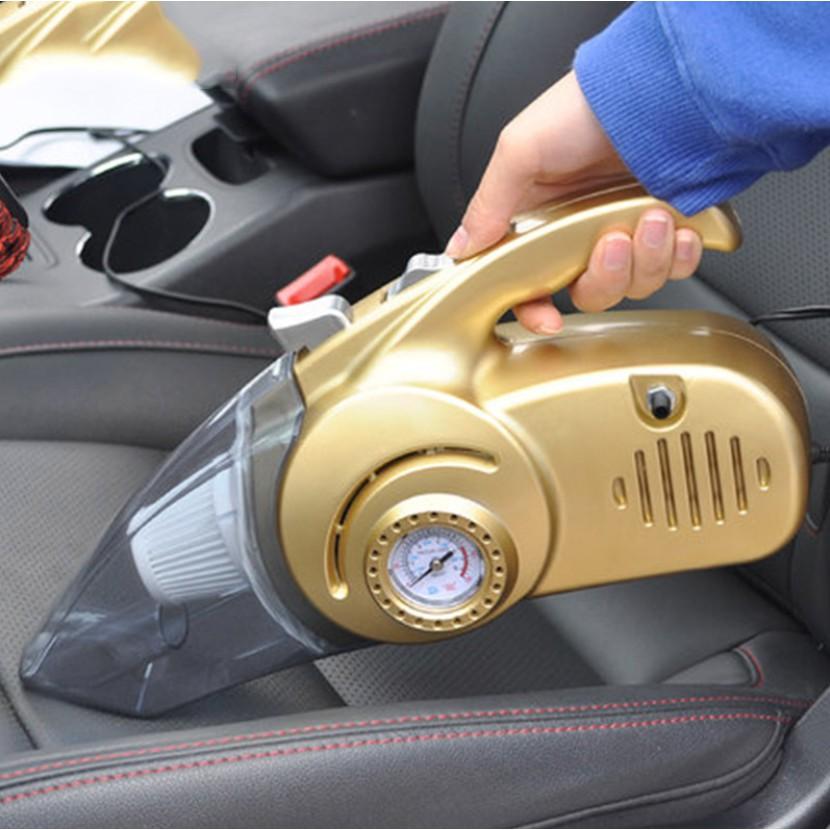 Bơm mini xe ô tô kiêm hút mùi - Máy hút bụi cầm tay có đèn - Máy hút bụi, bơm lốp ô tô 4 in 1, Tiện ích thiết thực cho người sử dụng, Kiểu dáng hiện đại SP CHẤT LƯỢNG CAO, BH UY TÍN !. Ms : DD16026