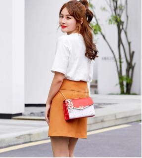[ Hàng Siêu Cấp ] Túi Nữ Sao T19 Style Hàn Quốc - Chất Liệu Da Lộn Bền Đẹp Chống Bám Bụi Bẩn - Dây Đeo Bằng Thép Chống Rỉ Luôn Bền Đẹp Như Mới 8