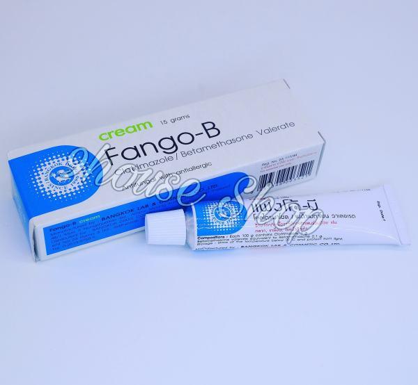 01 tuýp Kem Bôi Da Nấm Lang Beng FANGO - B Thái Lan 15gram nhập khẩu