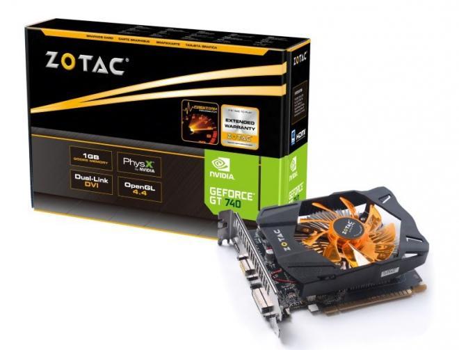 VGA ZOTAC GeForce GT 740 DDR5 1GB 128-bit