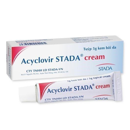 Kem Acyclovir Dược Stada (tuýp 5gram) nhập khẩu