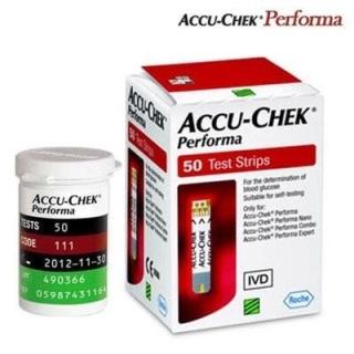 Que thử đường huyết Accu-Chek Performa - Hộp 50 que thumbnail
