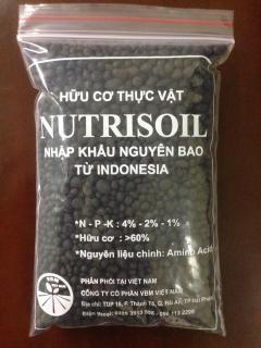 Phân hữu cơ cao cấp Nutrisoil nhập khẩu Indonesia gói 1kg thumbnail
