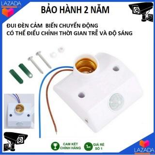 Đui đèn cảm ứng Đui đèn cảm biến chuyển động hồng ngoại SMH E27, đuôi đèn cảm biến hồng ngoại, đui đèn e27, đui đèn điều khiển từ xa đui đèn cảm ứng hồng ngoại thumbnail