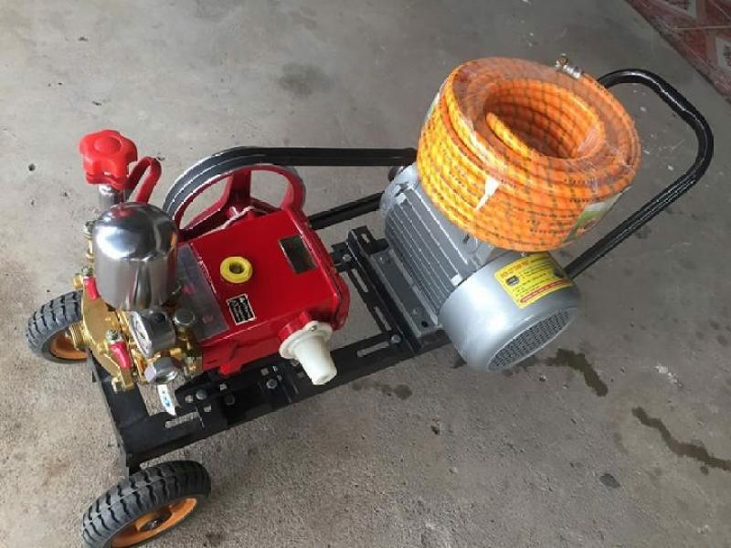 Bộ đầu xịt Máy rửa xe dây đai động cơ 2HP