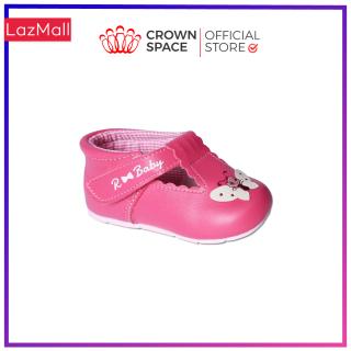 Giày Tập Đi Bé Gái Đẹp CrownUK Royale Baby Walking Shoes Trẻ em Nam Nữ Cao Cấp 0511106 Nhẹ Êm Size 3-6/1-3 Tuổi