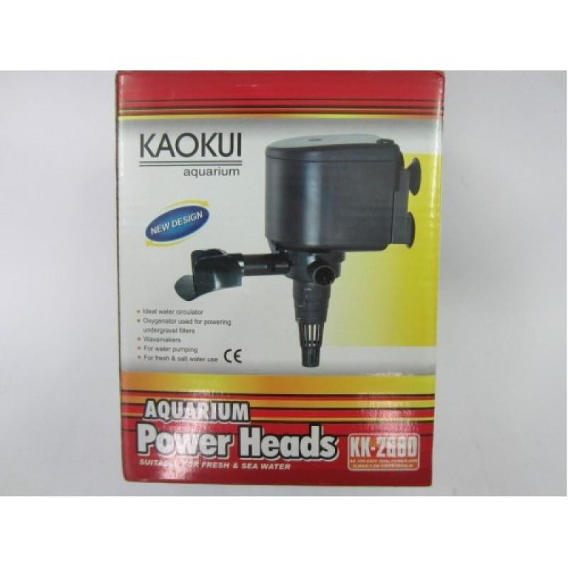 Máy bơm lọc nước hồ bể cá cảnh 40W KAOKUI KK-2680 - Bơm Nước 3 trong 1 (Hút, Đẩy, Thổi Oxy)