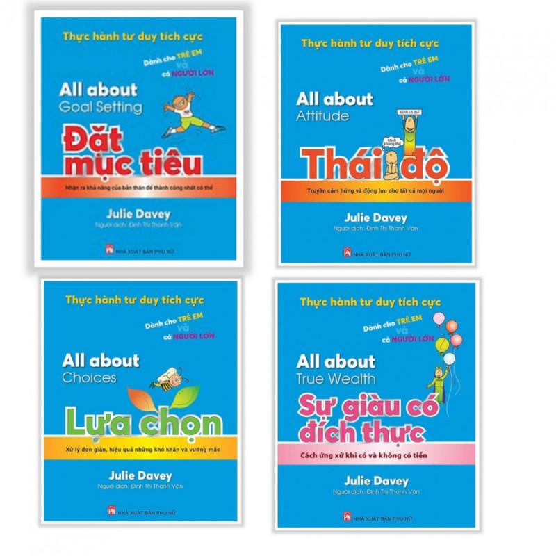 nguyetlinhbook - Thực Hành Tư Duy Tích Cực Dành Cho Trẻ Em Và Cả Người Lớn (Combo bộ 4 cuốn)