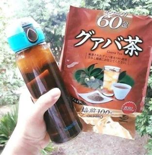Trà lá ổi Orihiro Nhật Bản 60 túi nhỏ thumbnail