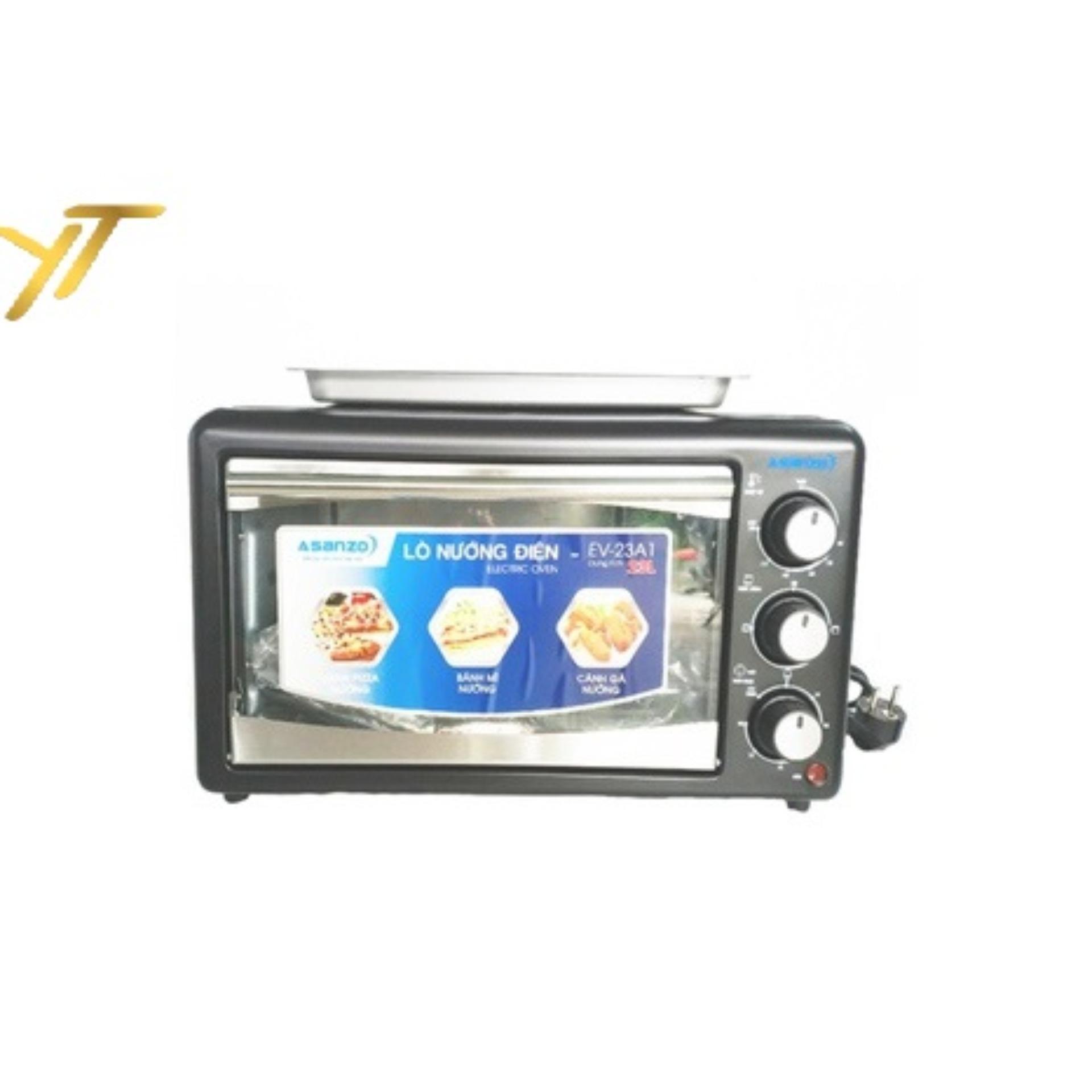 Lò nướng điện 23 lít Asanzo EV-23A1