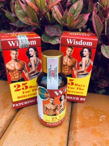 Viên Uống Hỗ Trợ Tăng Cân Và Cơ Bắp Wisdom Weight (Hộp 25 Viên) Chiết Xuất 100% Từ Mầm Hạt Đậu Nành Lên Men Chứa Hàm Lượng Dinh Dưỡng Cao