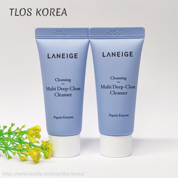 2 Tuýp Sữa Rửa Mặt Chuyên Sâu Laneige Cleansing Multi Deep-Clean Cleanser 20ml x 2