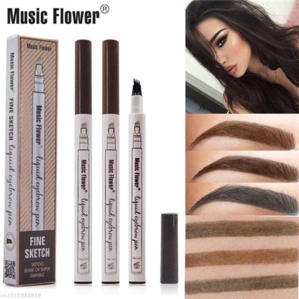 Chì Kẻ Mày Phẩy Sợi 4D Music Flower
