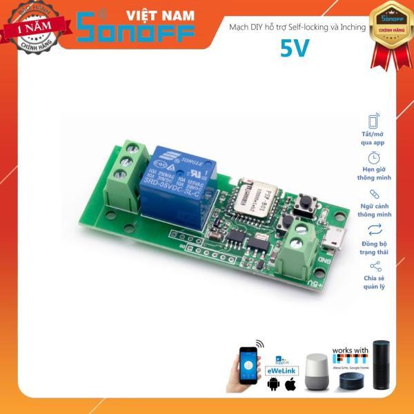 Mạch Điều Khiển Từ Xa Qua Mạng Wifi Nguồn 5V Sonoff