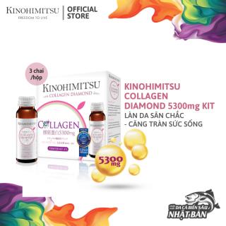 Nước Uống Kinohimitsu Đẹp Da J Pan Collagen Diamond 5300 Drink 50ml x 3 chai thumbnail
