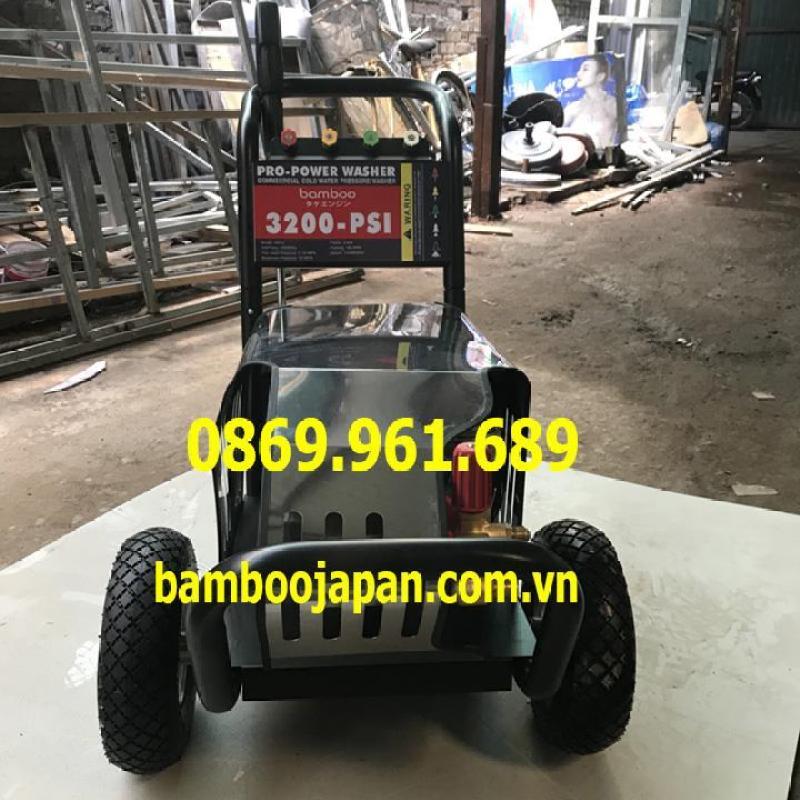 Máy rửa áp lực, đẩy tay Bamboo BmB 3200PSI 3kw