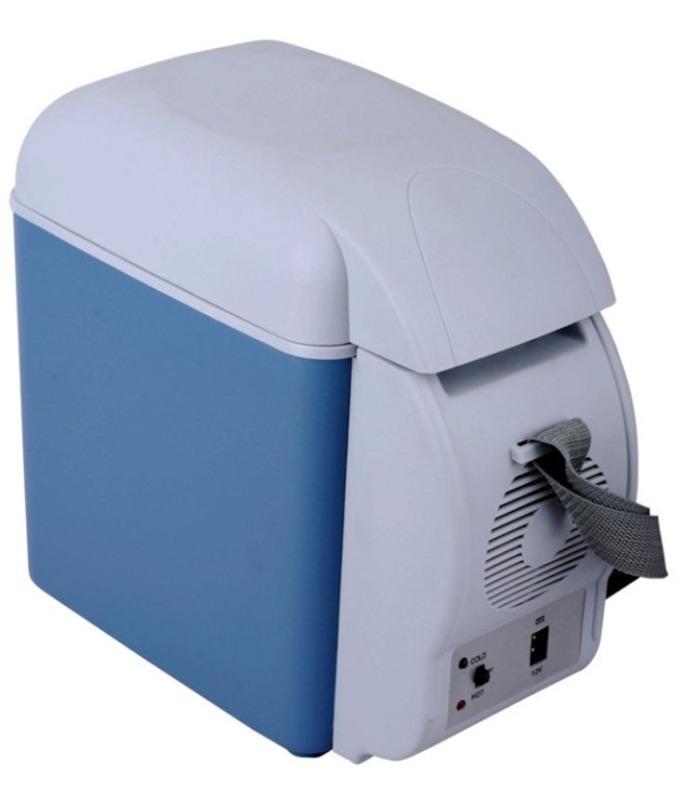 Tủ lạnh mini chuyên dụng cho ô tô 7.5L - Có 2 chế độ lạnh và ấm - Nhỏ gọn, Đa năng, Tiện lợi - CAR08