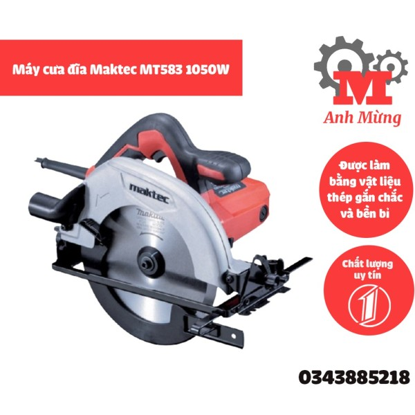 Máy cưa đĩa Maktec MT583 1050W