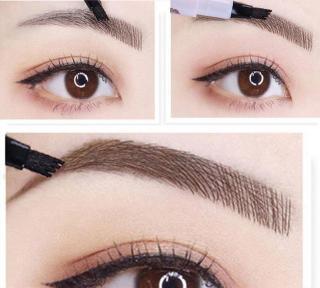 Bút chì vẽ lông mày phẩy sợi 4D - cho lông mày đậm và đẹp hơn thumbnail
