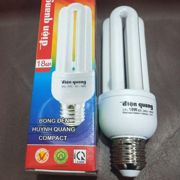 Bóng đèn compact 3U 18W Điện Quang