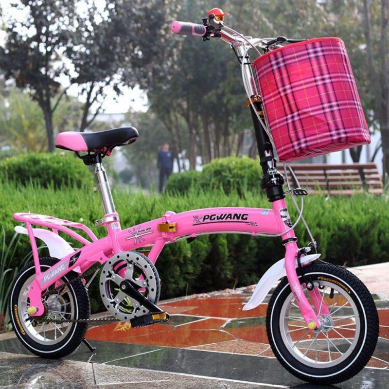 Phân phối Xe đạp gấp trẻ em 14 icnh ( có nhiều màu)