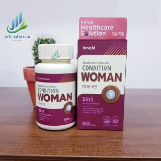 Viên uống collagen và cấp ẩm Condition Woman hàn quốc thumbnail