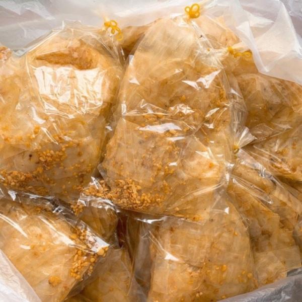 10 bịch Bánh tráng xike muối tỏi,Món ăn vặt gây nghiện
