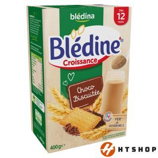 Bột Lắc Sữa Yến Mạch Bledina Cho Bé 12 Tháng Vị ChocoBiscuit thumbnail