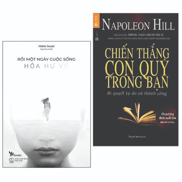 Combo 2 cuốn sách hay về kĩ năng sống: Rồi Một Ngày Cuộc Sống Hóa Hư Vô + Chiến Thắng Con Quỷ Trong Bạn