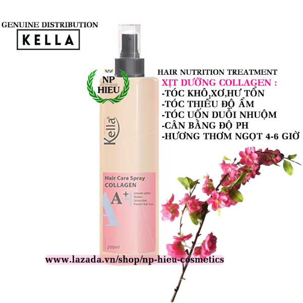 Xịt dưỡng tóc Kella A+
