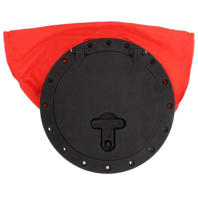 Kayak Deck Plate Hatch Bag, 8 inch Inches - Watertight & Water-Resistant Storage Bag for Keys, Sunglasses, Snacks