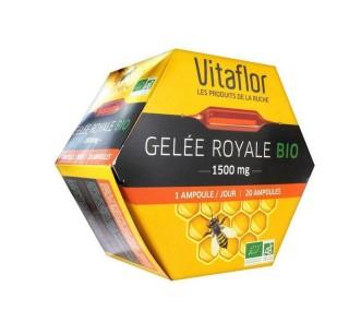 Sữa ong chúa Vitaflor Bio 1500mg 20 ống của Pháp thumbnail