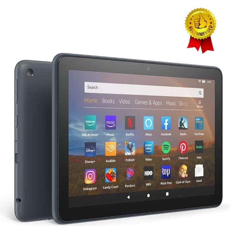 Máy tính bảng Kindle Fire HD8/HD8 Plus - Thế hệ 10