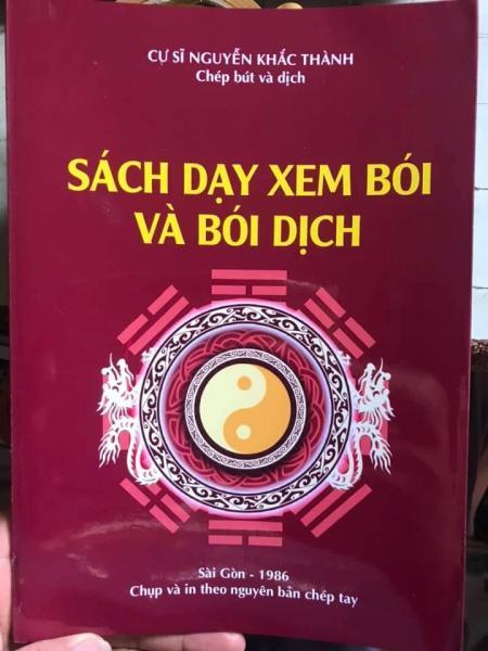 Mua Sách Dạy Xem Bói Và Bói Dịch - Cư Sĩ Nguyễn Khắc Thành