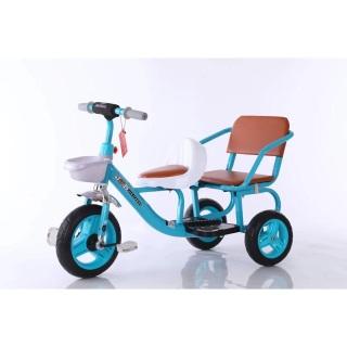 [rẻ vô đối] Xe đạp xích lô cao cấp cỡ đại 2 ghế cho bé - xe đạp 3 bánh trẻ em - xe đạp trẻ em thumbnail