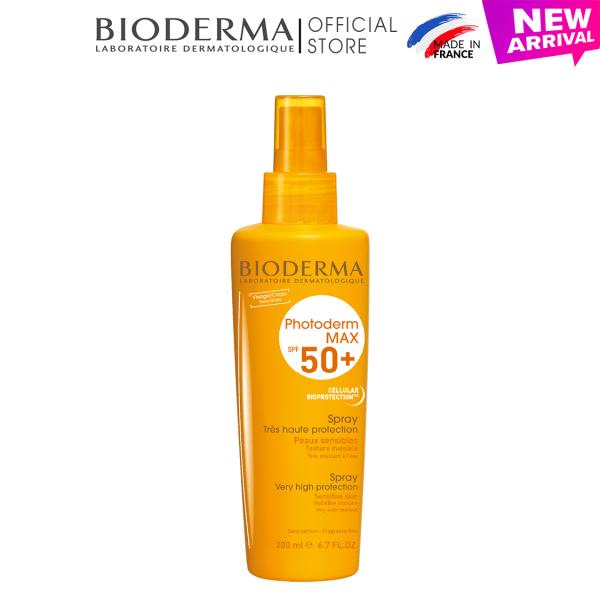 Lotion chống nắng dạng xịt dành cho mọi loại da Bioderma Photoderm Max Spray - 200ml